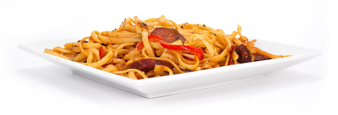 recepta-pasta-espaguetis-macarrons-xoriç-receta-macarrones-chorizo-pasta-with-chorizo