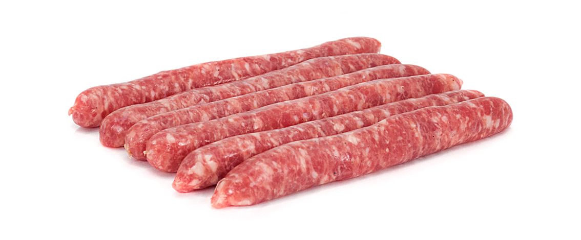 salsitxes-embotit-fresc-plana-de-vic-salchichas-embutido-fresco-raw-thin-sausages