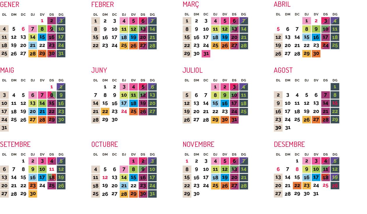 calendari de fires i mercats d'embotits vall del ges